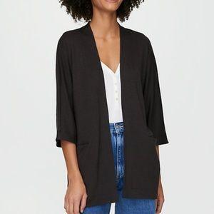 Aritzia | Wilfred Free | Black Zlata Sweater